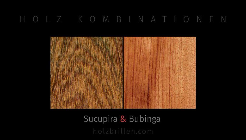 Holzkombination: Innen Sucupira, aussen Bubinga